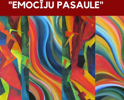 Мир Эмоций от художника Владиславы Крупмане 3