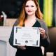 Вручение сертификатов. Члены бизнес-клуба 21