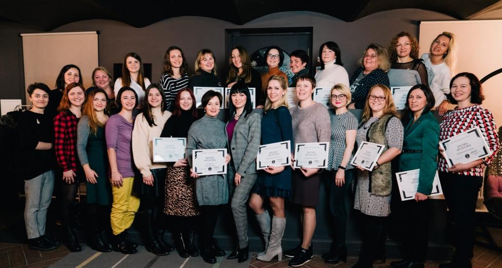 Вручение сертификатов. Члены бизнес-клуба 2