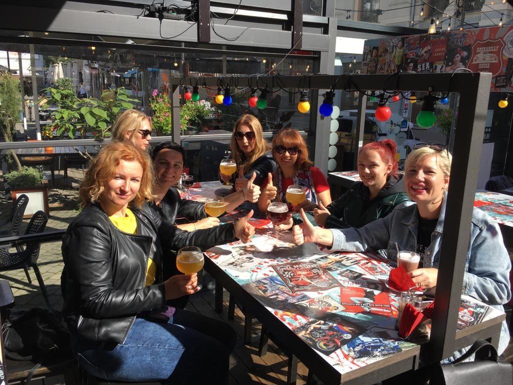 Экскурсия на мотоциклах в Ladies Deal Club 28