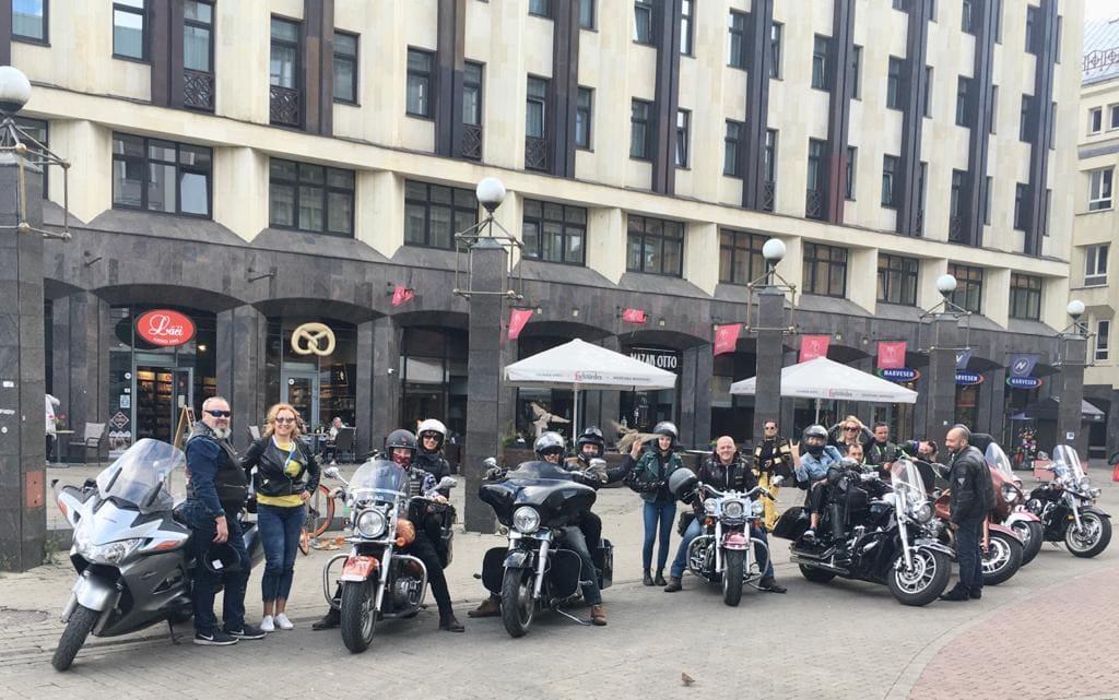 Экскурсия на мотоциклах в Ladies Deal Club 29
