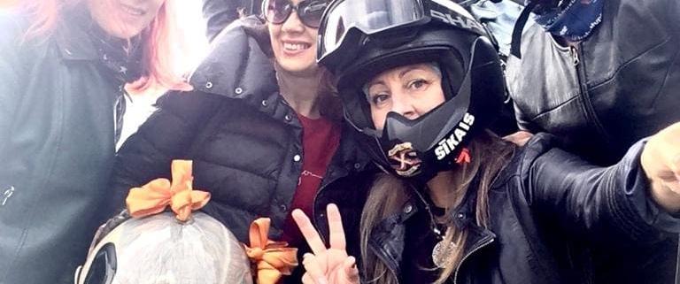 Экскурсия на мотоциклах в Ladies Deal Club 1